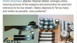 Il killer di Halle ha pubblicato online un manifesto antisemita da più di una