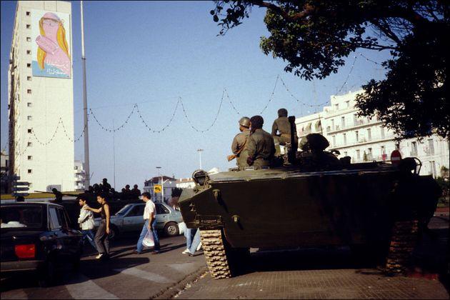 ALGERIA - OCTOBER 09: Headquarters State In Algiers, Algeria On October 09, 1988. (Photo by Georges MERILLON/Gamma-Rapho...