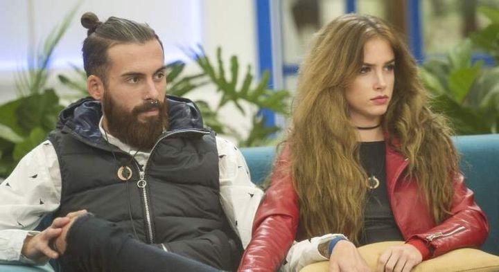 Carlota y José María, en 'GH Revolution'.