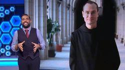 El 'dardo' de Dani Mateo a los benedictinos tras lo que soltó un monje sobre la exhumación de Franco: