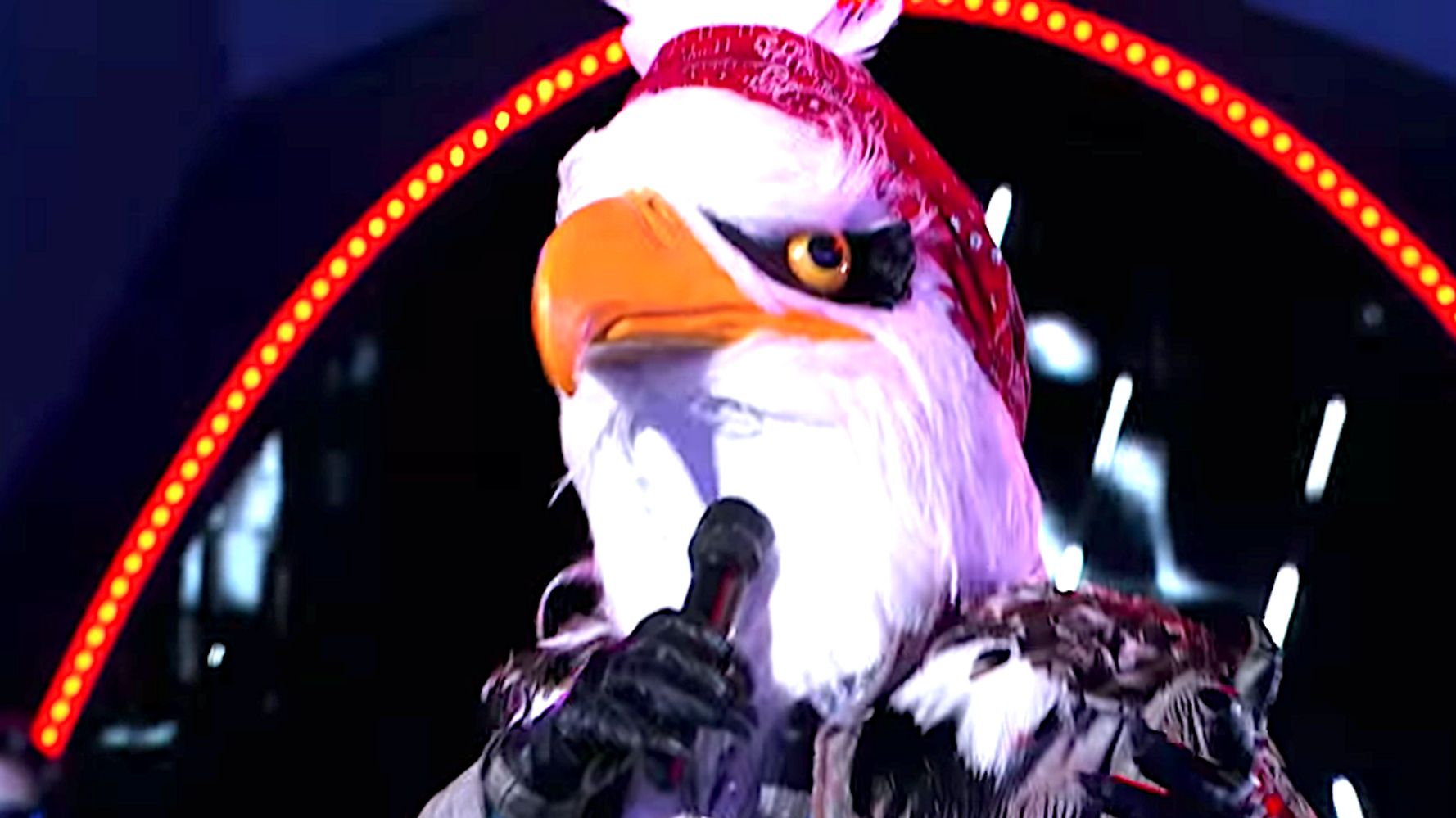 Westlake Legal Group 5d9efbb9210000c30734373a 'The Masked Singer' Unmasks Eagle And We're Knocked Over With A Feather (Spoiler Alert)