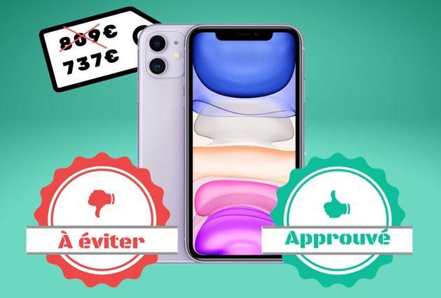 La promo sur l'iPhone 11 à 737 euros vaut-elle le
