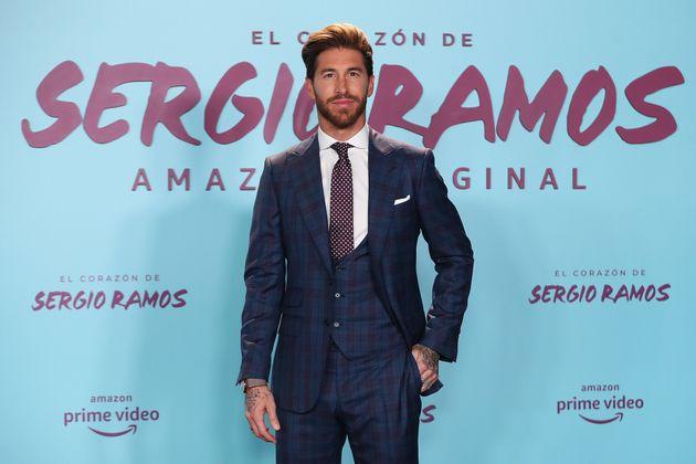 Sergio Ramos en la promo de su