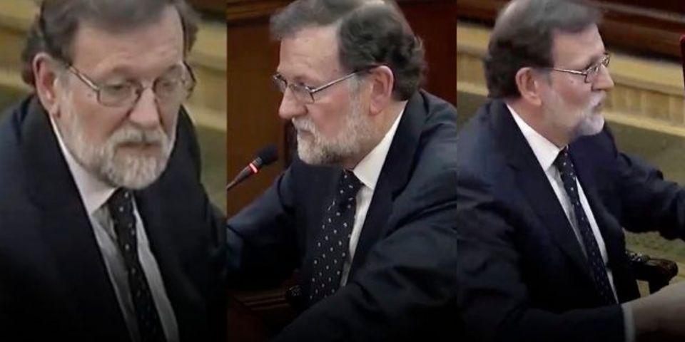 El día en el que Rajoy testificó en el juicio del
