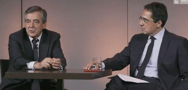 François Fillon interviewé par RTS (Radio Télévision Suisse), le 9 octobre