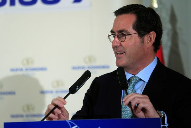 El presidente la patronal CEOE Antonio