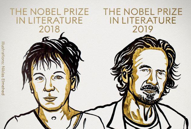 Olga Tokarczuk et Peter Handke sont les lauréats 2018 et 2019 du prix Nobel de