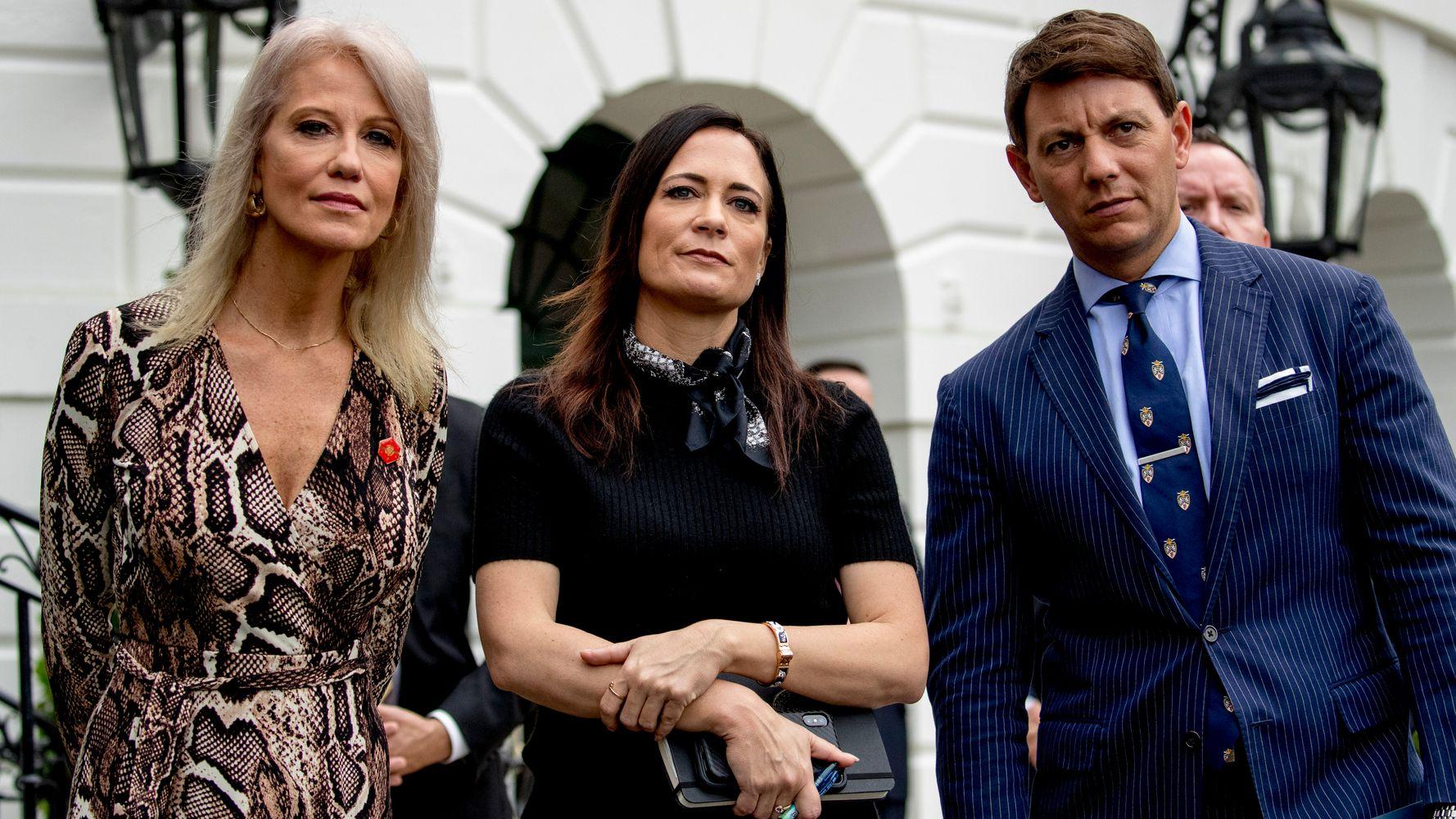 White House Aides Avoid Media Amid Impeachment Storm