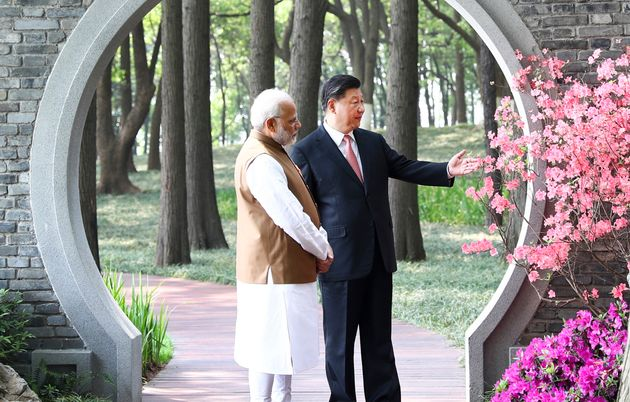 File image of Prime Minister Narendra Modi and Chinese President Xi