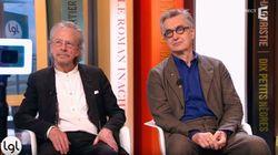Le prix Nobel Peter Handke et le cinéaste Wim Wenders, une amitié qui dure depuis 50