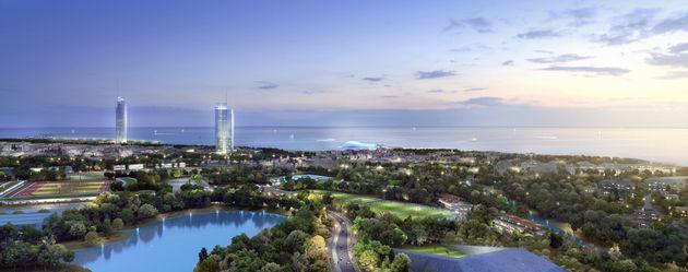 Πολυτελείς κατοικίες, Mall και resort – καζίνο την πρώτη 5ετία στο