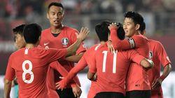 [월드컵 지역예선] 한국이 스리랑카를 8대 0으로 크게