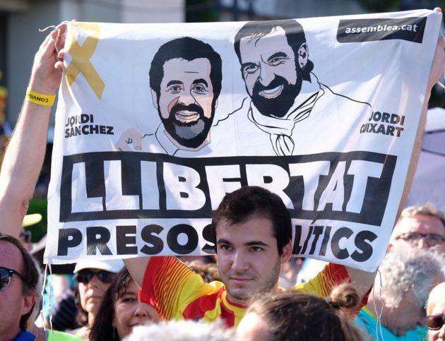 Manifestación por la liberación de los