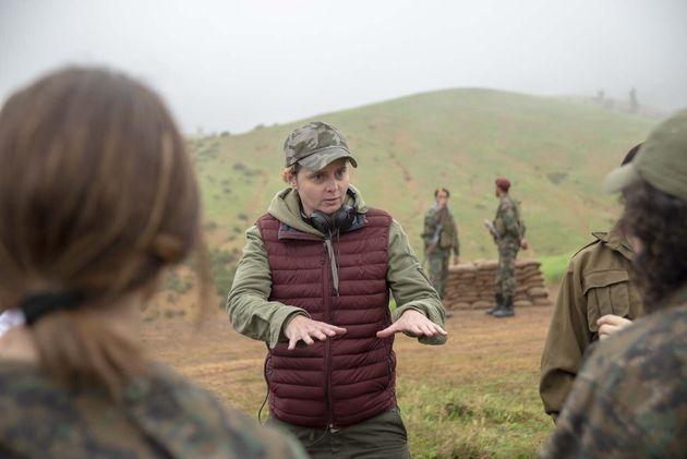 Le 9 octobre, Caroline Fourest (ici sur le tournage) a sorti son premier film au cinéma.