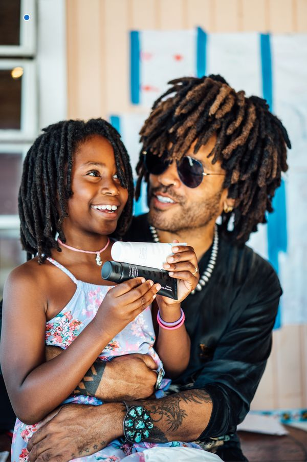 """Musician Lenny Kravitz has a line of <a href=""""https://www.smiletwice.com/products/the-duo"""" target=""""_blank"""">tooth care product"""