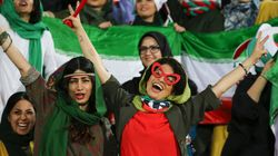 Iranian Women Cheer In Football Stadiums For The First Time In