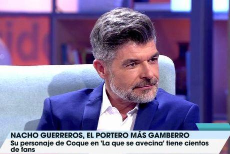 Nacho Guerreros durante una aparición en 'Viva la