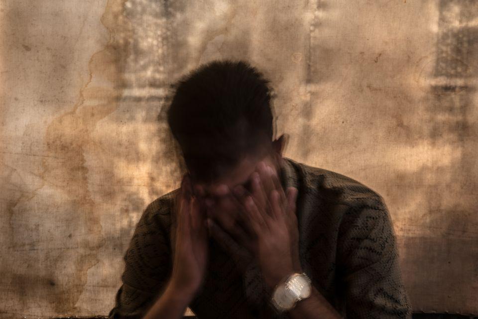 Un hombre yazidí de 24 años, en su
