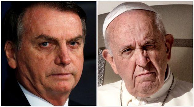 Schiaffo a Papa Francesco, Bolsonaro non viene a Roma per la prima Santa