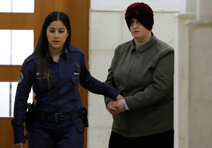 Malka Leifer, a former Australian teacher accused of dozens of cases of sexual abuse of girls at a school.