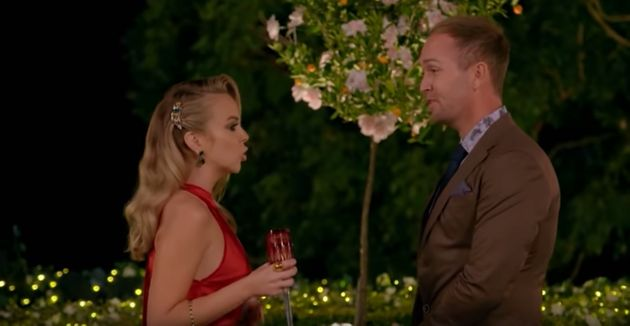 Bachelorette Angie Kent asked Jess Glasgow to leave the show on Thursday night following his inappropriate