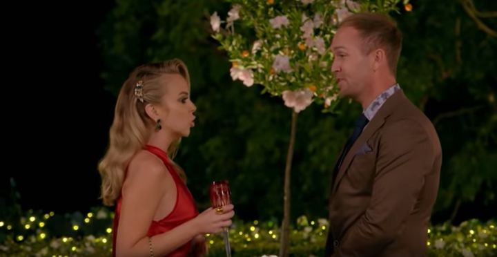 Bachelorette Angie Kent asked Jess Glasgow to leave the show on Thursday night following his inappropriate comments.