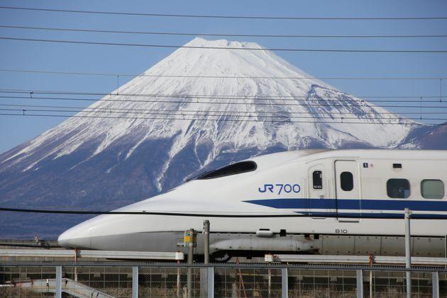 新幹線 台風