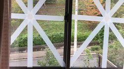台風の窓割れ対策は?