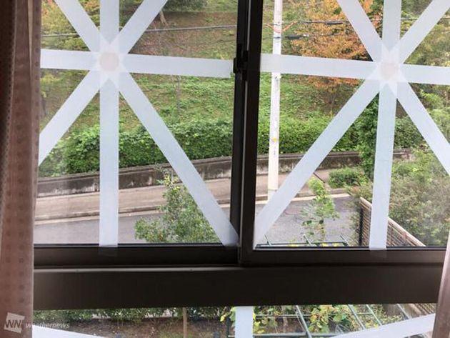 補強された窓