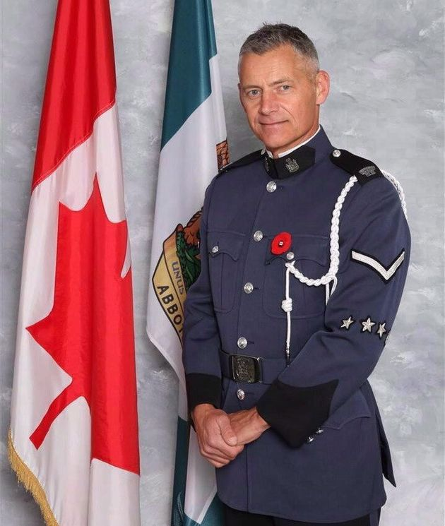 Const. John Davidson is shown in an undated handout