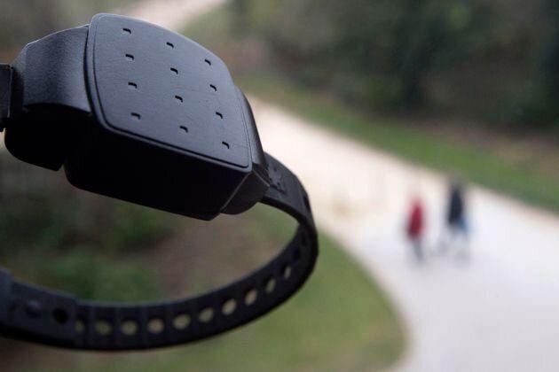 Bracelet électronique (photo d'illustration)