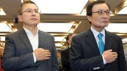 한국당의 지지도가 국정농단 사태 후 최고치를