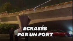 Un pont s'effondre en Chine et fait 3