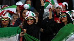 이란 여성들이 38년 만에 축구 '직관'을 할 수 있게