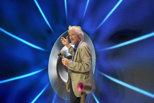 NEW YORK, NY - SEPTEMBER 14: Dyson founder and chief engineer Sir James Dyson speaks onstage during the...