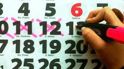 Calendario laboral de 2020: tiene 12 festivos, 8 comunes a todo el