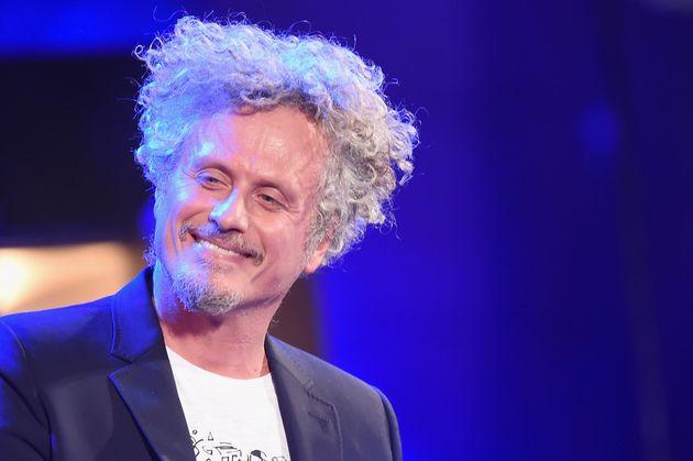 MILAN, ITALY - NOVEMBER 20: Niccolo Fabi performs live during Milan Music Week opening at Teatro Del...
