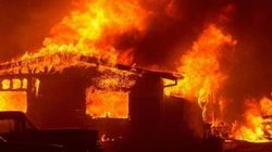 Casablanca : Un violent incendie ravage un entrepôt de M'dina