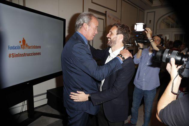 Bertín Osborne y Pablo