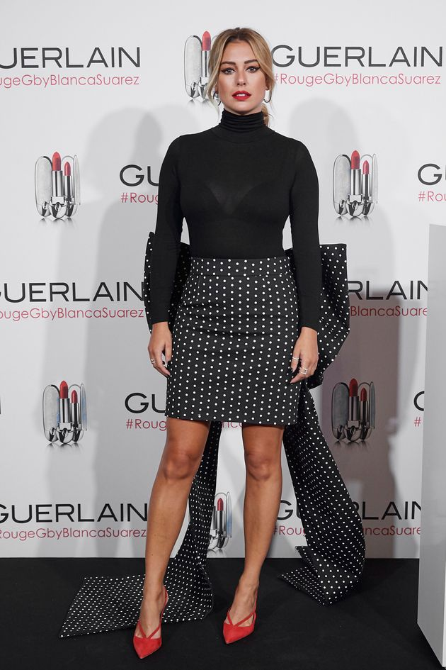 La actriz Blanca Suarez, el 9 de octubre de 2019 en