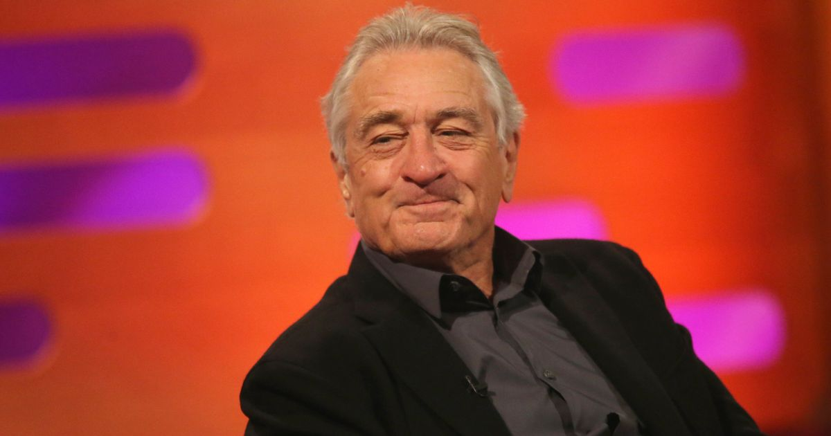 Robert De Niro Lampoons Trump: 'He Thinks He's A Gangster, And He's Not Even A Very Good One'