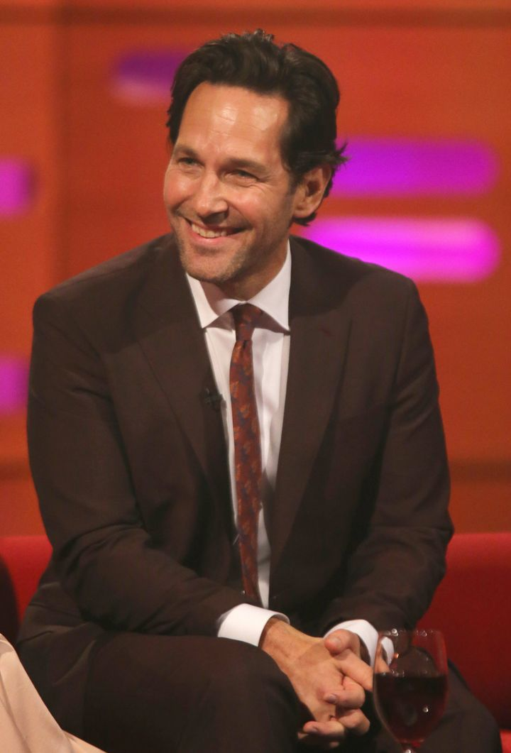 Paul Rudd on The Graham Norton Show