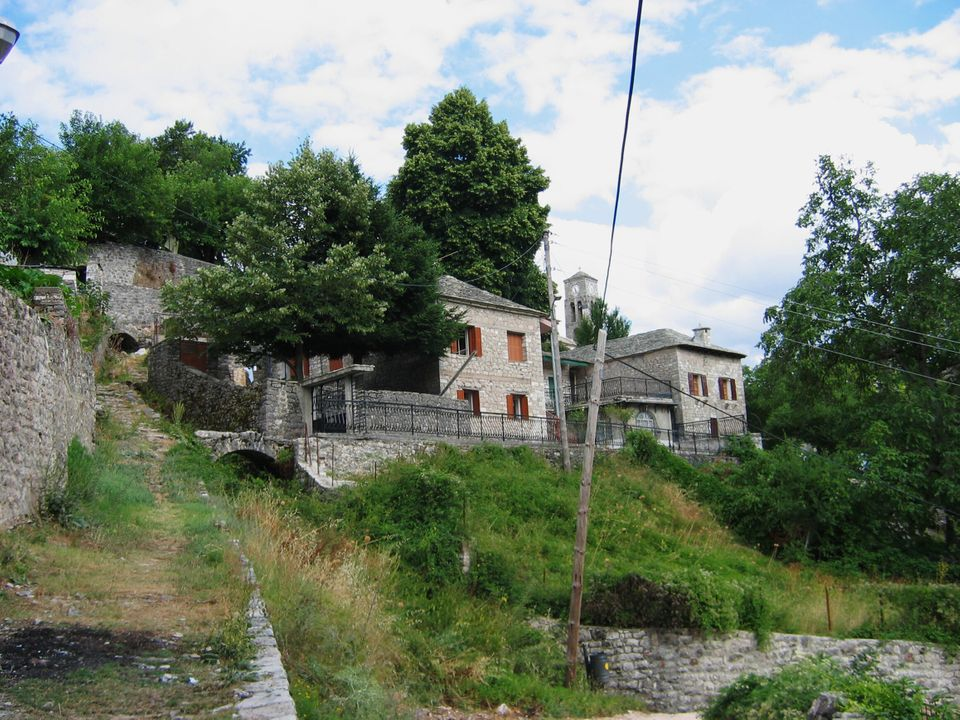 Kalarites village in Ioannina Epirus