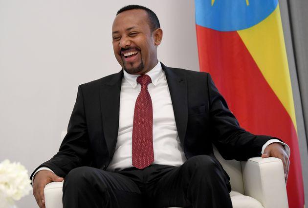 28 January 2019, Ethiopia, Addis Abeba: Abiy Ahmed Ali, Prime Minister of the Democratic Federal Republic...