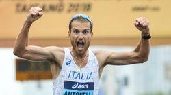 Dopo il coma, in 7 anni è diventato il primo marciatore d'Italia.