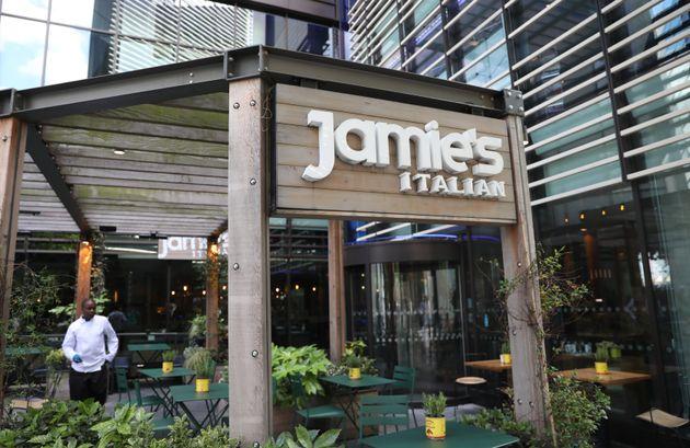 Jamie's Italian has closed on the High