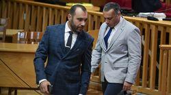 Δίκη Χρυσής Αυγής: «Διωκόμαστε εξαιτίας της ανόδου που εμφάνιζε η ΧΑ» είπαν Ζησιμόπουλος -