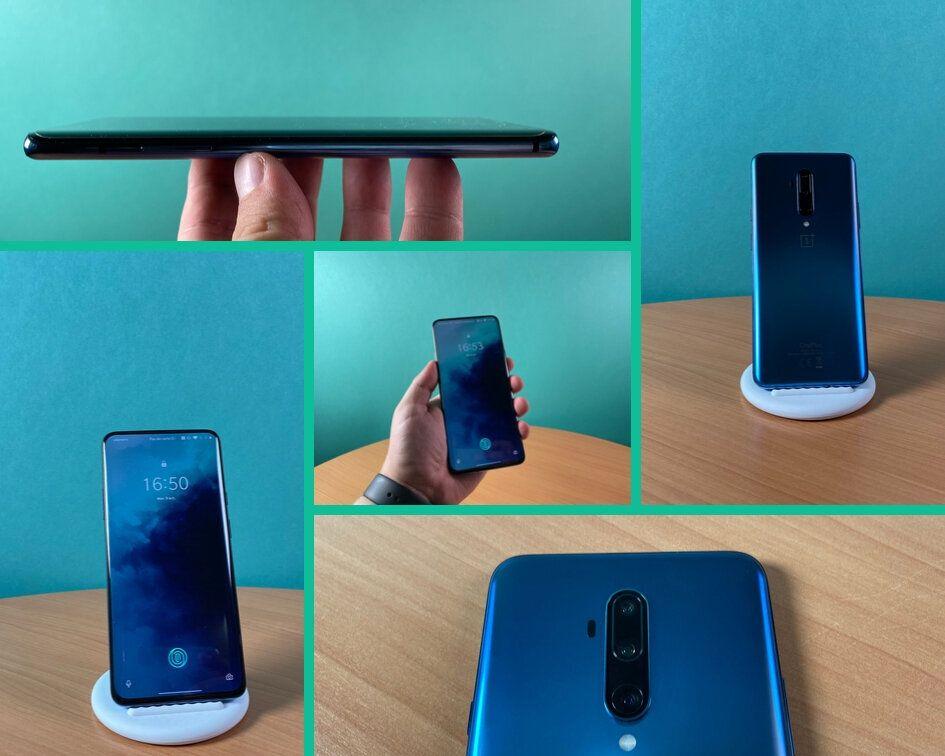 Le design du OnePlus 7T, aussi épuré que sur le OnePlus 7