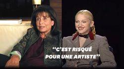 Quand Anne Sinclair demandait à Madonna de commenter