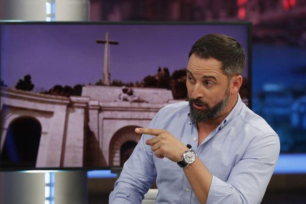 Santiago Abascal y su reloj en 'El